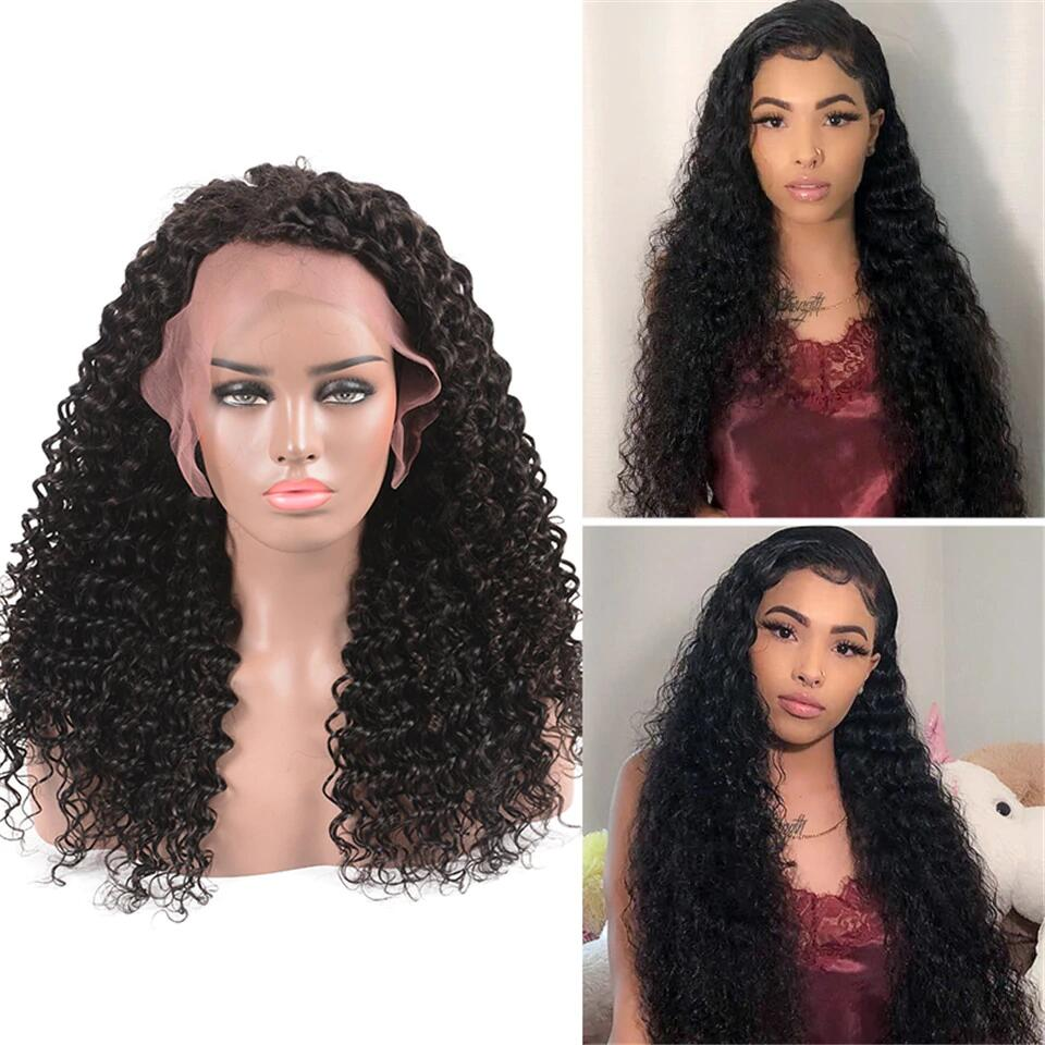 Pre Plucked Breathable 360 Lace Wig 100% Human Hair Glueless Wigs All Texture - Rose Hair