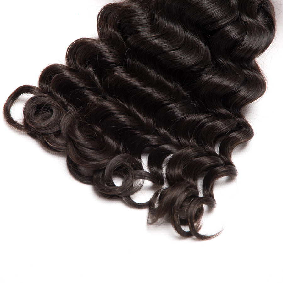 10A Grade 1PC Big Curly Best Brazilian Virgin Hair Bundles - Rose Hair