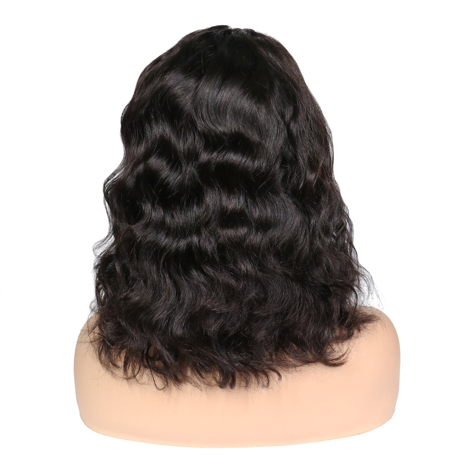 RoseHair Top Quality Wavy Affordable Gorgeous 13*6 Lace Wig Short Hair - Rose Hair