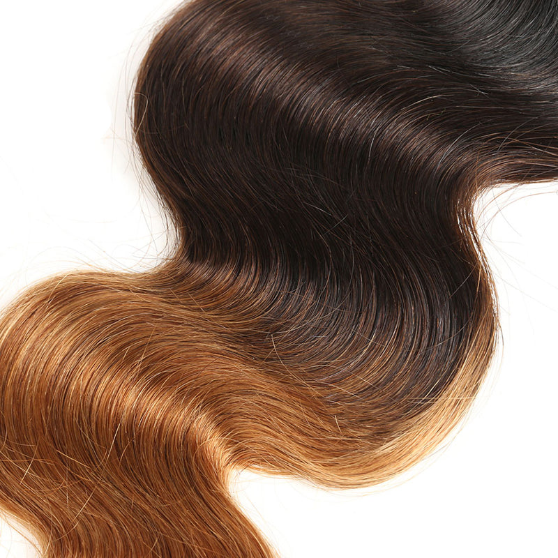 10A Grade 3PCS T1B/4/30 / T1B/30 Color Best Brazilian Virgin Hair Bundles Body Wave/Straight Hair - Rose Hair