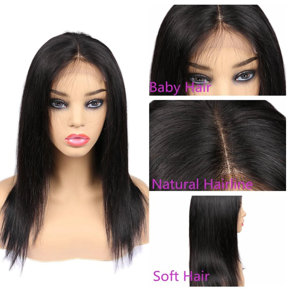5*5 HD Lace Wigs 13*4 Lace Frontal Wig #613 4*4 Lace Closure Package Deal - Rose Hair