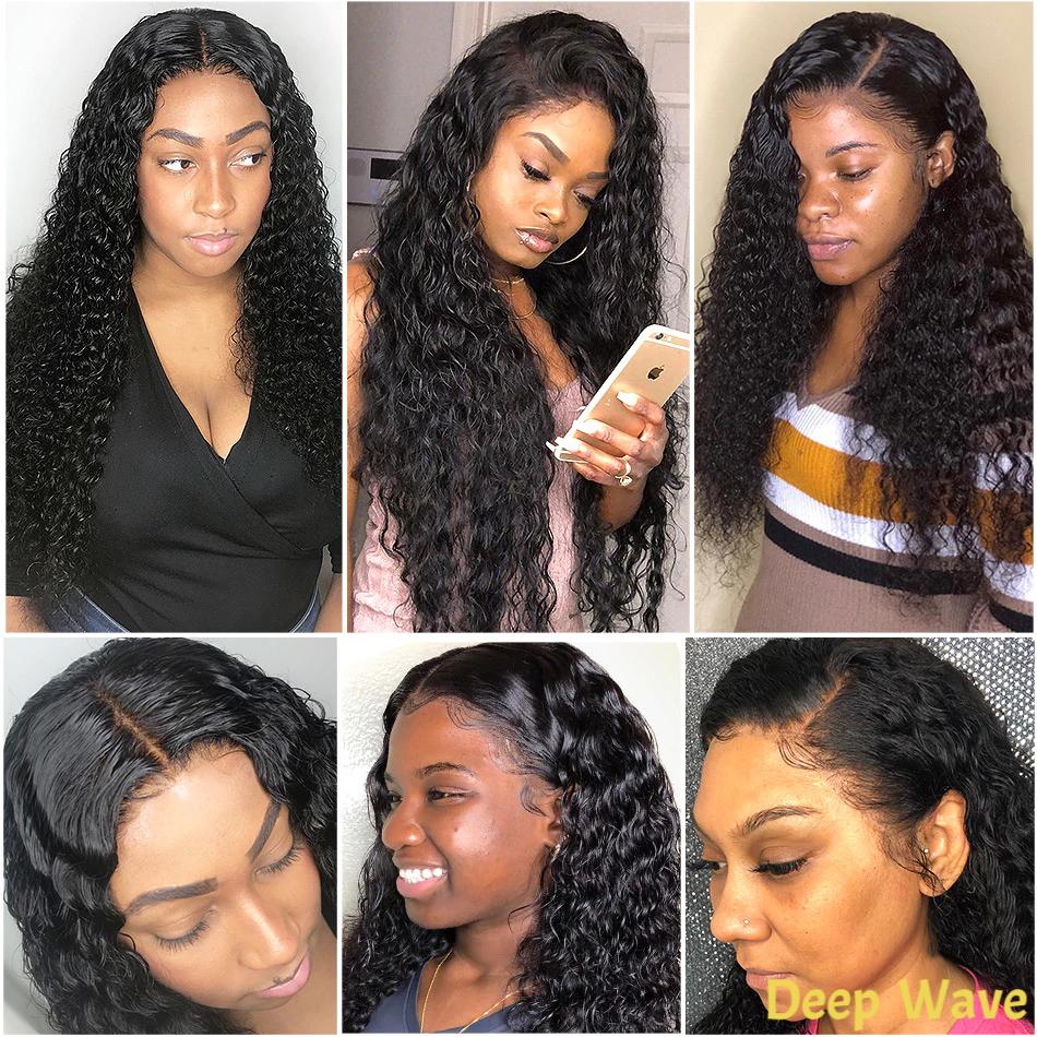 150% Density Affordable Best Human Virgin Hair 13x6 Lace Front Wig - Rose Hair