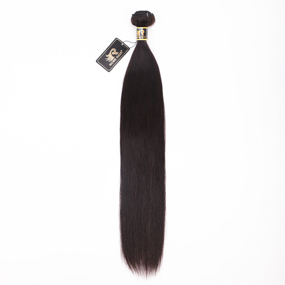 Rose Hair 10A Grade Best Brazilian Straight Virgin Hair 1 Bundle/Pack - Rose Hair
