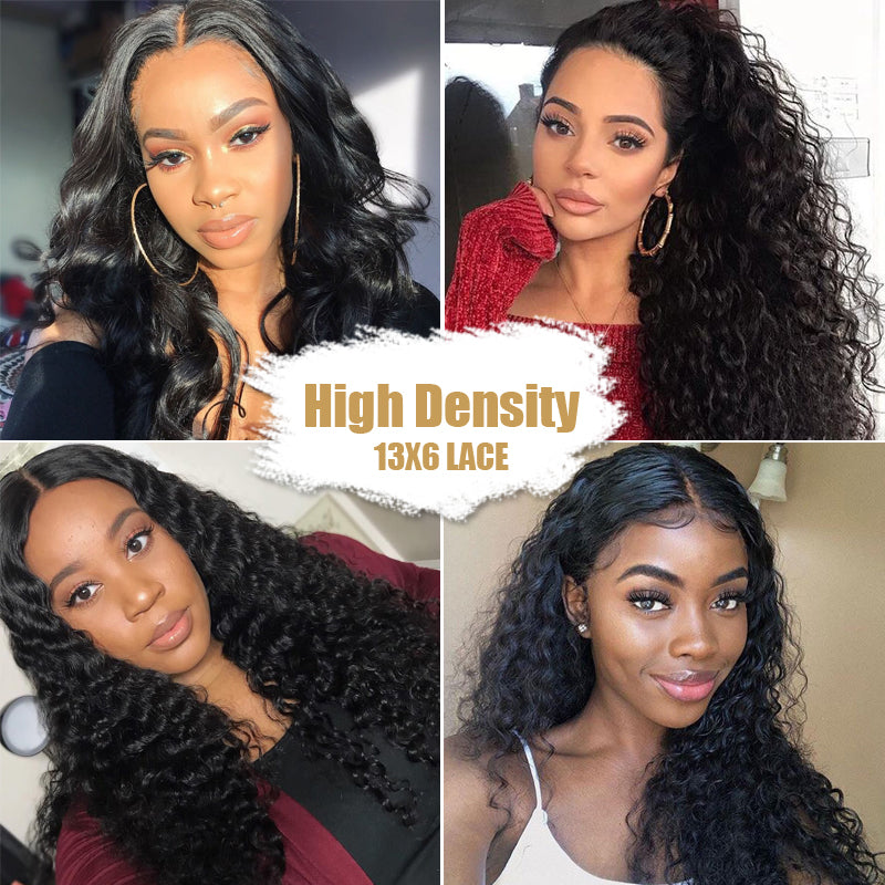 Rose Hair 13x6 Lace Frontal Wig High Density Affordable Human Hair Wig All Texture - Rose Hair