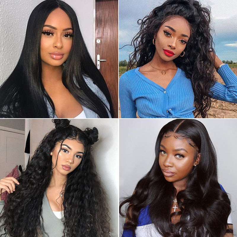 Real Undetectable Transparent Lace Color Best Full Lace Wig 100% Human Virgin Hair Wig All Remy Hair Swiss Lace Wig All Texture - Rose Hair
