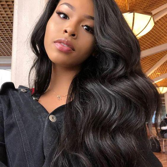 RoseHair 13*6 Glueless Lace Frontal Wig Small Bouncy 100% Human Hair Wig All Texture - Rose Hair