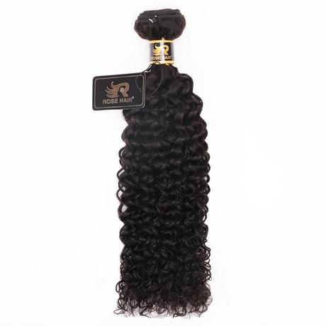 10A Grade 3 Bundles Brazilian Virgin Hair With 1 PCS Per Plucked 5*5 HD Lace Closure All Texture - Rose Hair