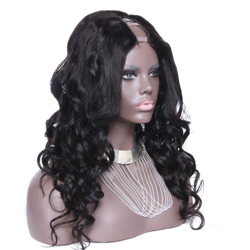 RoseHair U Part Loose Wave Wig Super Easy Affordable Human Hair Wig - Rose Hair