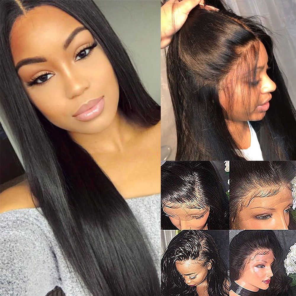 Rose Hair 13x6 Lace Frontal Wig Best Brazilian Affordable Straight Human Hair Wig - Rose Hair