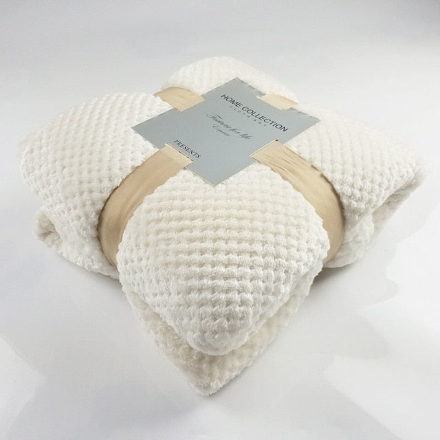 Soft Fleece Throw - INTERIORIG
