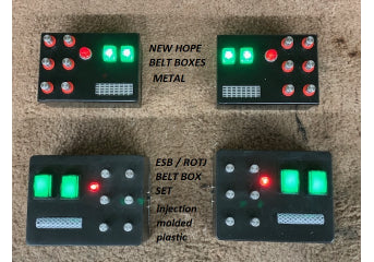 Dark Lord New Hope Belt with light up metal boxes