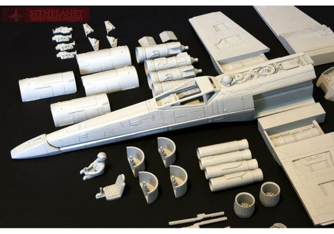 T-65 Spaceship X Classic Model Kit 1/24 scale