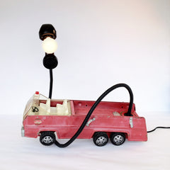 FIRE TRUCK MOBILE PHONE IN MOTION (SOLD)