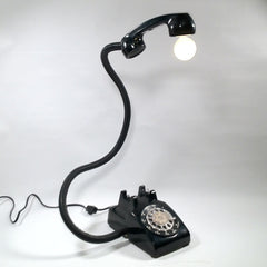 ROTARY PHONE LAMP (SOLD)