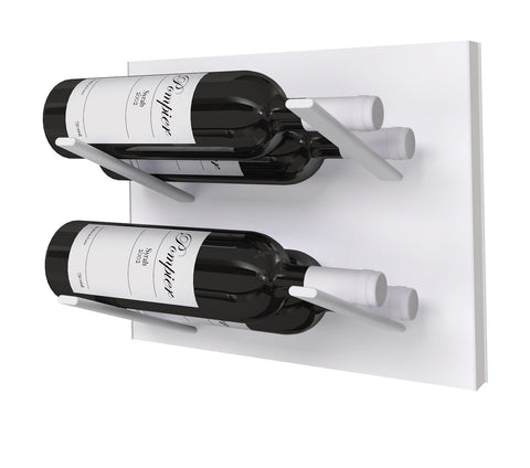 label-out wine rack - whiteout