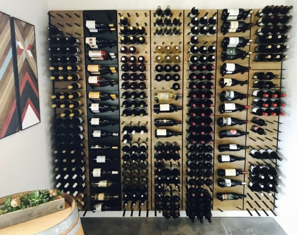 winery display racks