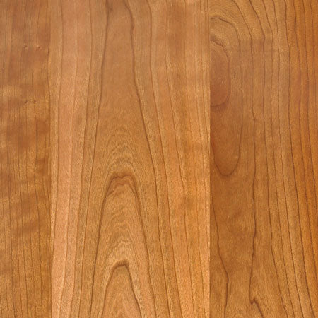 Standout Designs Solid American Cherry After Some Exposure to Light and Air