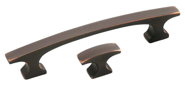 customize your media console with oil-rubbed bronze hardware