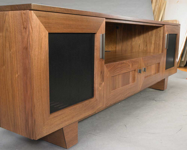 The Quest Solid Wood Media Console