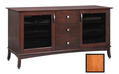 Norwalk 60-inch Wood Media Console (3 Media Drawers)
