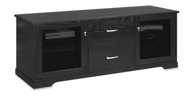 Horizon EX 64-inch Solid Wood Media Console (2 Media Drawers)-Standout Designs
