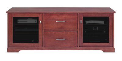 Horizon EX 64-inch Solid Wood Media Console (2 Media Drawers)