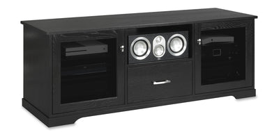 Horizon EX 64-inch Solid Wood Media Console (Center Speaker Shelf and Media Drawer)-Standout Designs