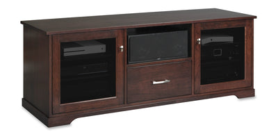 Horizon EX 64-inch Solid Wood Media Console (Center Speaker Shelf and Media Drawer)
