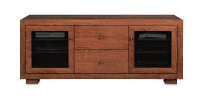 Haven EX 64-inch Solid Wood Media Console (2 Media Drawers)