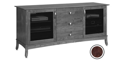 Norwalk 66-inch Solid Wood Media Console (3 Media Drawers)