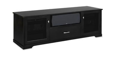 Horizon EX 72-inch Solid Wood Media Console (Center Speaker Shelf and Media Drawer)-Standout Designs