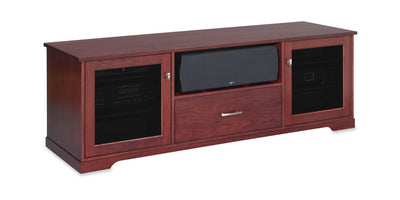 Horizon EX 72-inch Solid Wood Media Console (Center Speaker Shelf and Media Drawer)