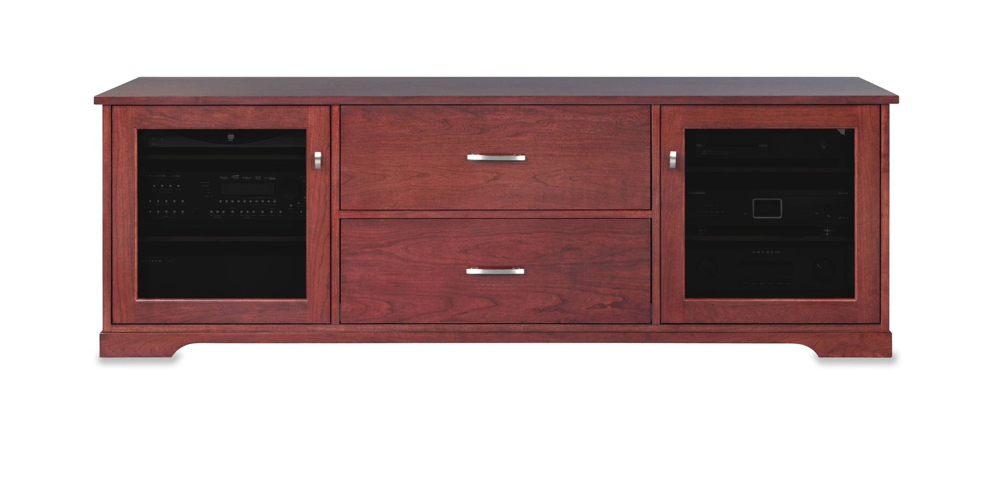 Horizon Ex 72 Inch Wood Media Console (2 Media Drawers)