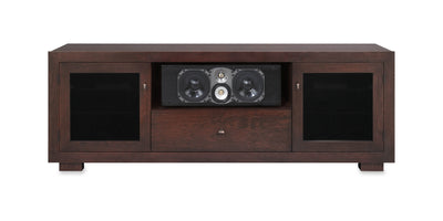 Haven EX 72-inch Solid Wood Media Console (Center Speaker Shelf and Media Drawer)-Standout Designs