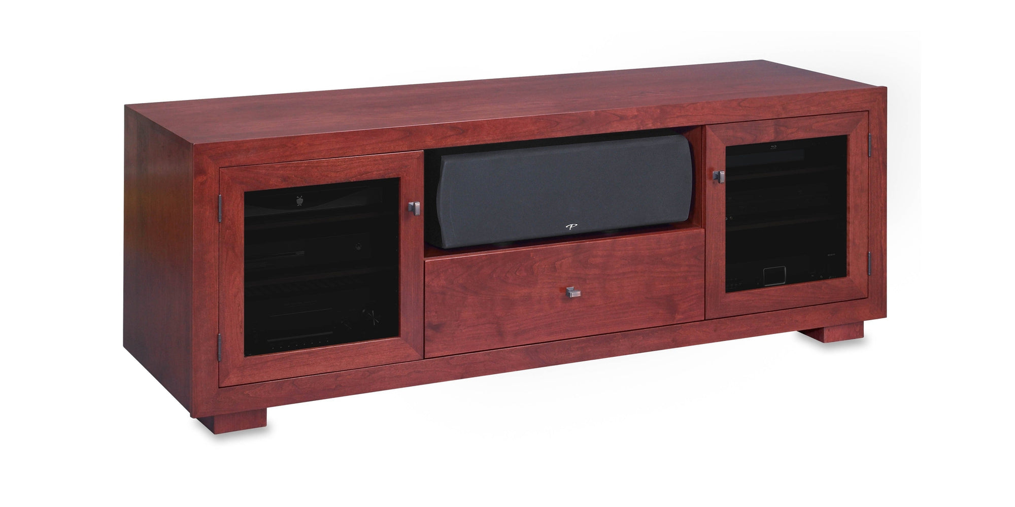 Haven Ex 72 American Solid Wood Media Console Tv Stand Av