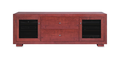 Haven EX 72-inch Solid Wood Media Console (2 Media Drawers)-Standout Designs