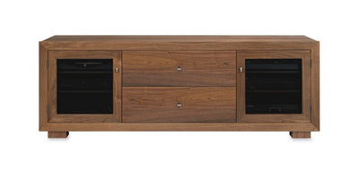 Haven EX 72-inch Solid Wood Media Console (2 Media Drawers)