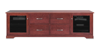 Horizon EX 82-inch Solid Wood Media Console (4 Media Drawers)