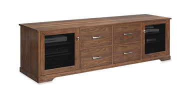 Horizon EX 82-inch Solid Wood Media Console (4 Media Drawers)-Standout Designs