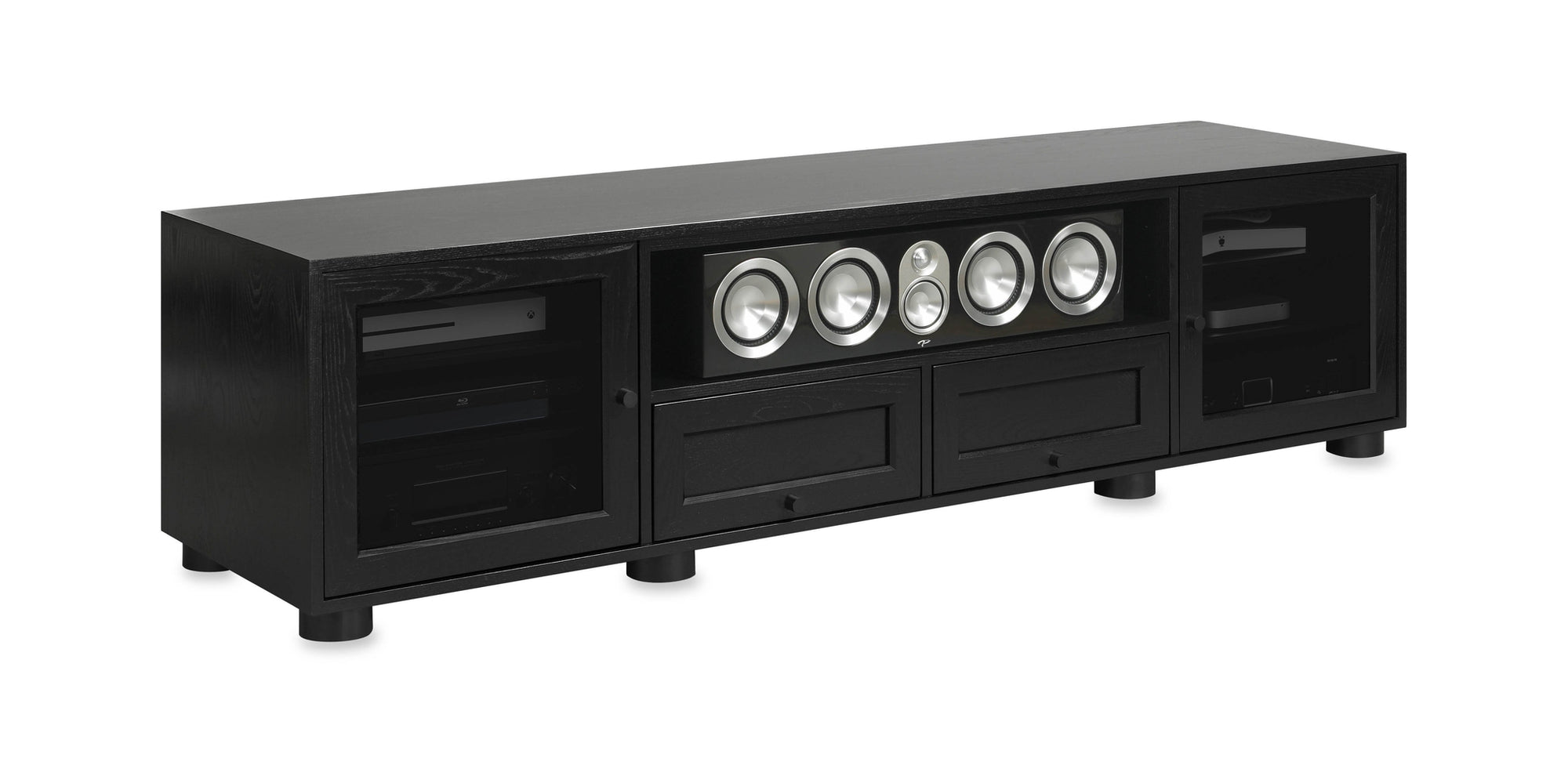 Majestic Ex 82 In American Solid Wood Media Console Tv