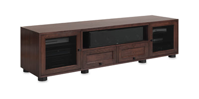 Majestic EX 82-inch Solid Wood Media Console (Center Speaker Shelf and 2 Media Drawers)