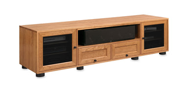 Majestic EX 82-inch Solid Wood Media Console (Center Speaker Shelf and 2 Media Drawers)-Standout Designs