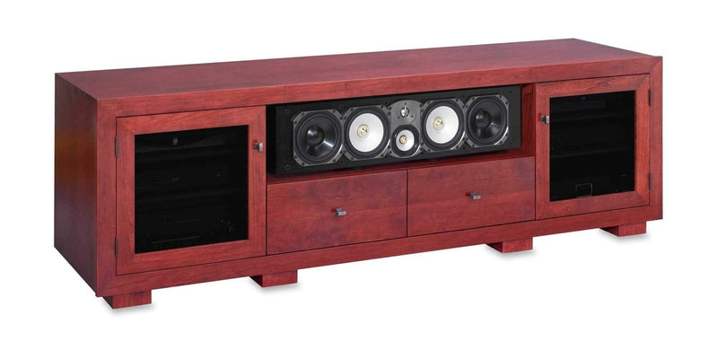 82 Quot Tv Stand With Shelf Amp Media Drawers Haven Standout