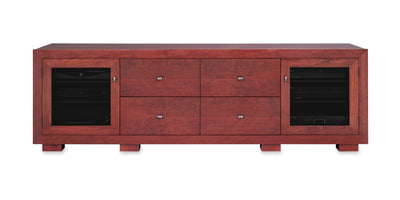 Haven EX 82-inch Solid Wood Media Console (4 Media Drawers)