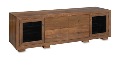 Haven EX 82-inch Solid Wood Media Console (4 Media Drawers)-Standout Designs