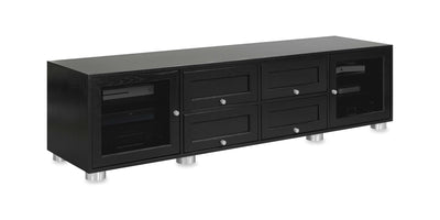 Majestic EX 82-inch Solid Wood Media Console (4 Media Drawers)