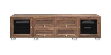 Majestic EX 82-inch Solid Wood Media Console (4 Media Drawers)-Standout Designs
