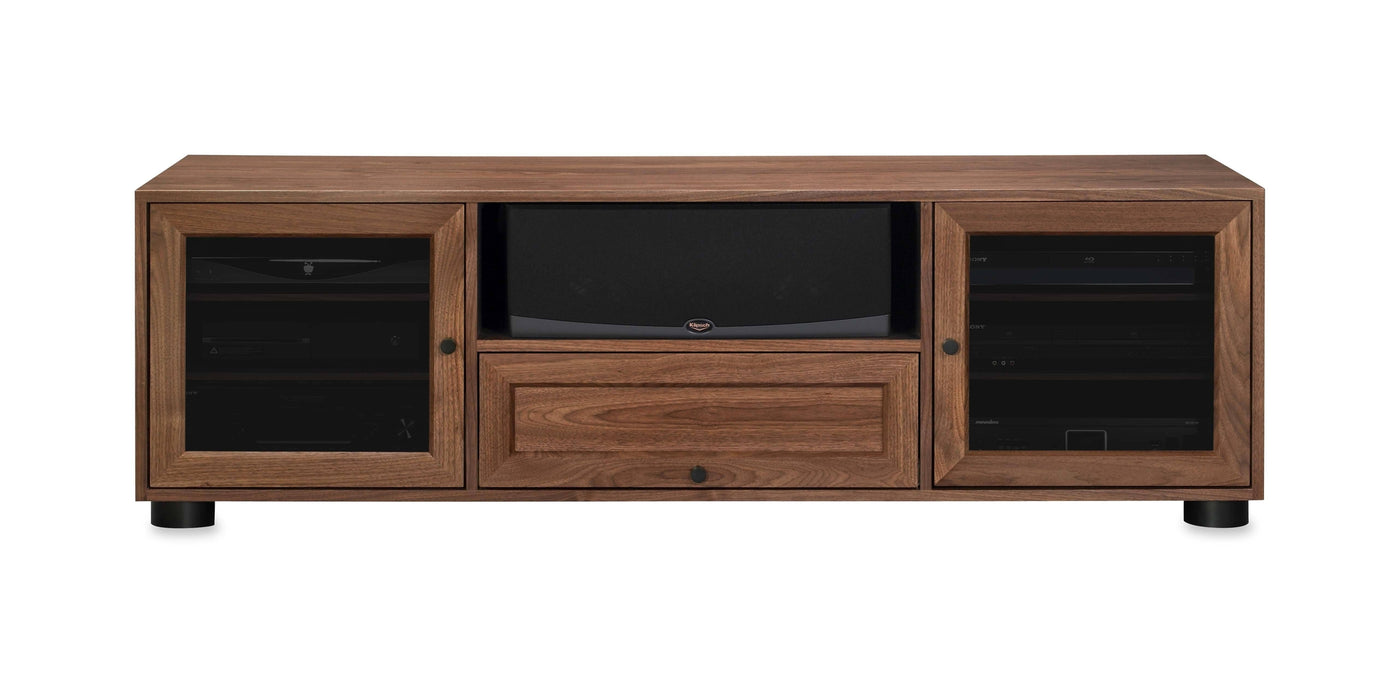 Majestic Ex 70 In American Solid Wood Media Console Tv Stand For