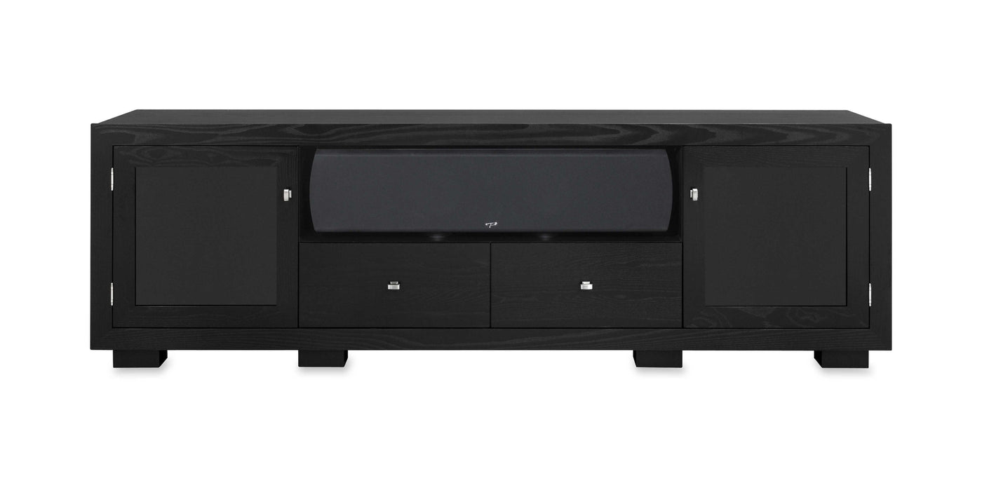 Haven Ex 82 Wide Solid Wood Media Console Tv Stand Av Cabinet