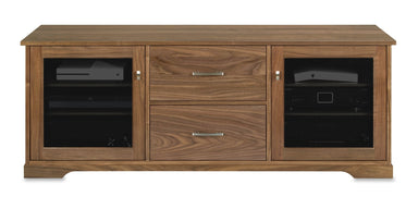 Customized Horizon EX 64-inch Solid Wood Media Console (2 Media Drawers)